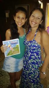 Com a Letícia Dal-Ri, autora da peça e do livro