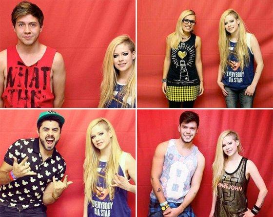 Reprodução / Meet Avril Lavigne - Brazil 2014
