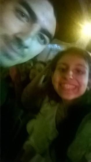 Minha Selfie com o Joe!