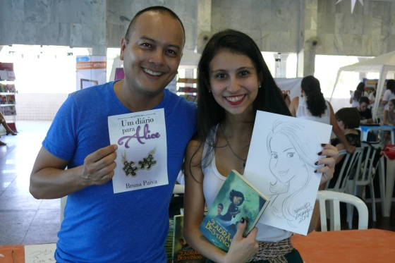 Nanuka Andrade, amei a caricatura!