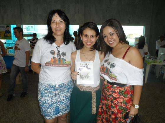 Com a Dirce e a Mari, organizadoras do evento!