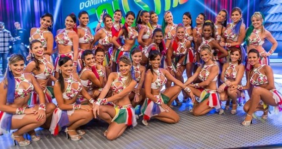 Bailarinas do Faustão - reprodução web (Foto: Artur Meninea / Gshow)